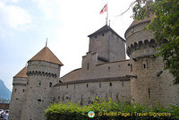 Castle of Chillon, Lac Leman
