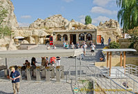 Entrance to the Göreme Open-Air Museum