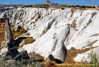 Interesting landscape of Göreme Valley