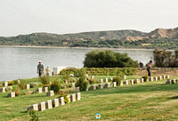 Cemetery on the Gallipoli peninsula