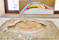 Model of ancient Troia