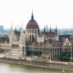 Hungarian Parliament Building on the Danube, Budapest