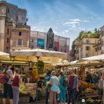 Campo de' Fiori market