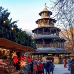 Chinesischer Turm Weihnachtsmarkt