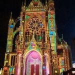 Metz Cathedral Lightshow